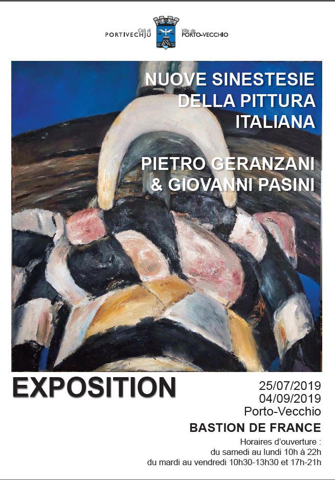 "Exposition ""Nuove sinistesie nella pittura italiana"" de Giovanni Pasini et Pietro Geranzani"