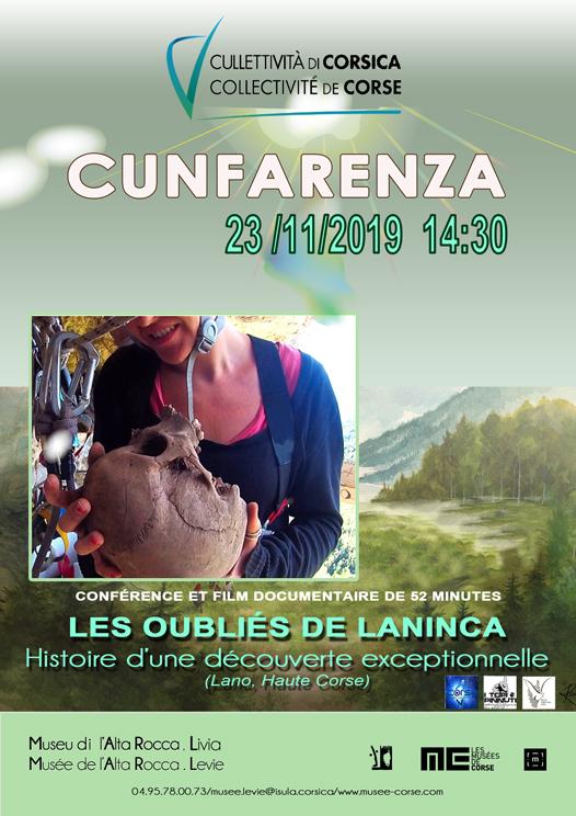 """Conférence et projection du film documentaire : """"Les oubliés de Laninca"""" - Musée de l'Alta Rocca - Levie"""