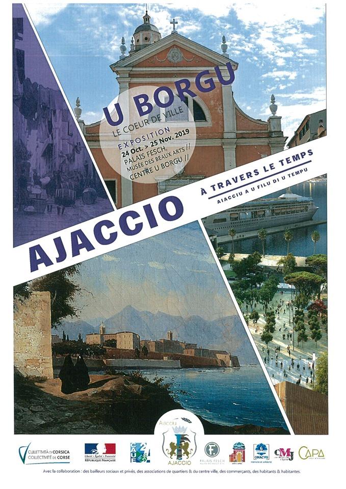"""Exposition """"Ajaccio à travers le temps - U Borgu/ Le cœur de ville"""" - Palais Fesch / Centre U Borgu - Ajaccio"""