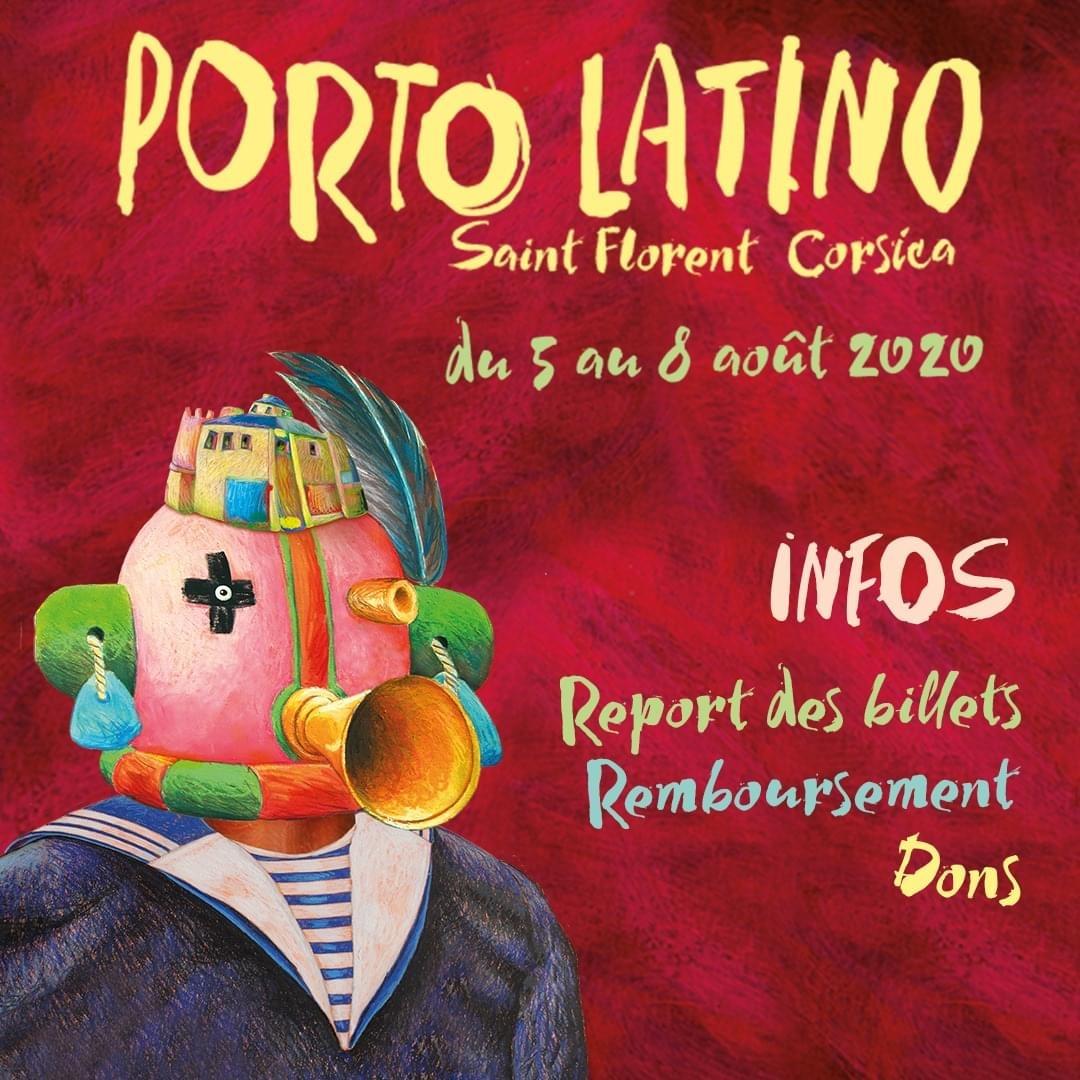 Annulation de la 22ème édition du festival Porto Latino - Saint Florent