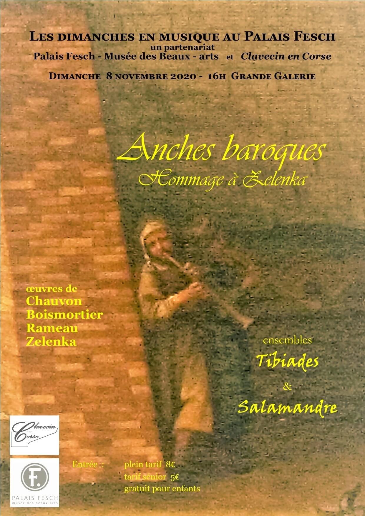 Annulation du concert organisé par Clavecin en Corse au Palais Fesch le 8 Novembre