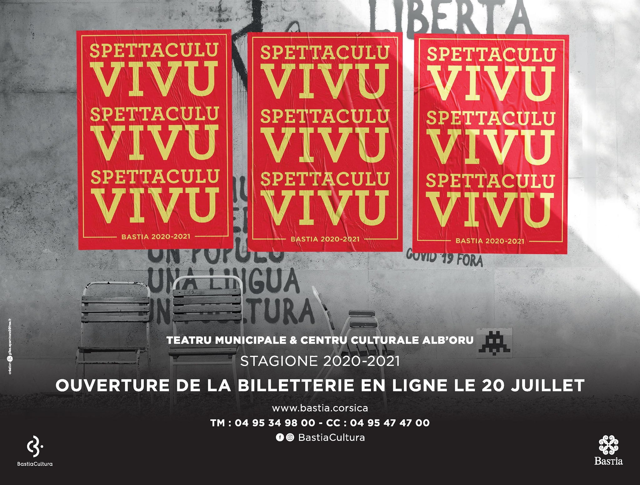 Bastia Cultura / Spettaculu vivu : Comment se faire rembourser ?
