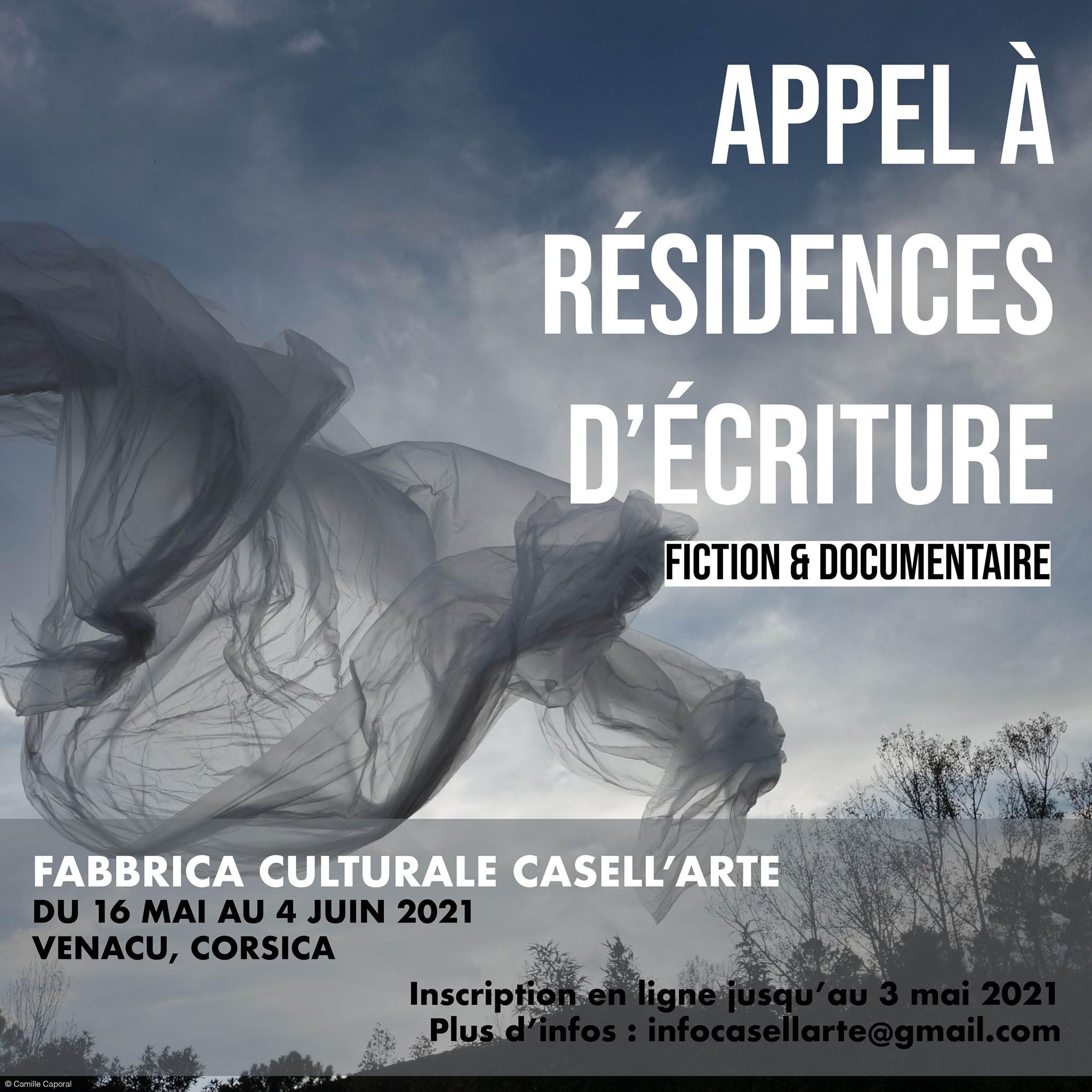 Appel à résidences d'écriture -  A Fabbrica culturale CASELL'ARTE - Venaco