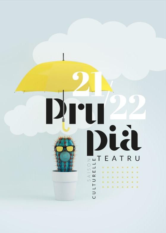 Programmation culturelle du Théâtre-Cinéma de Propriano saison 2021 / 2022