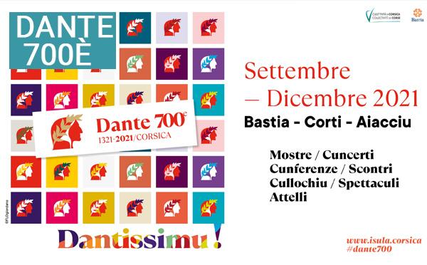 """""""Dantissimu !"""" Une programmation événement à l'occasion des 700 ans de la mort de Dante"""