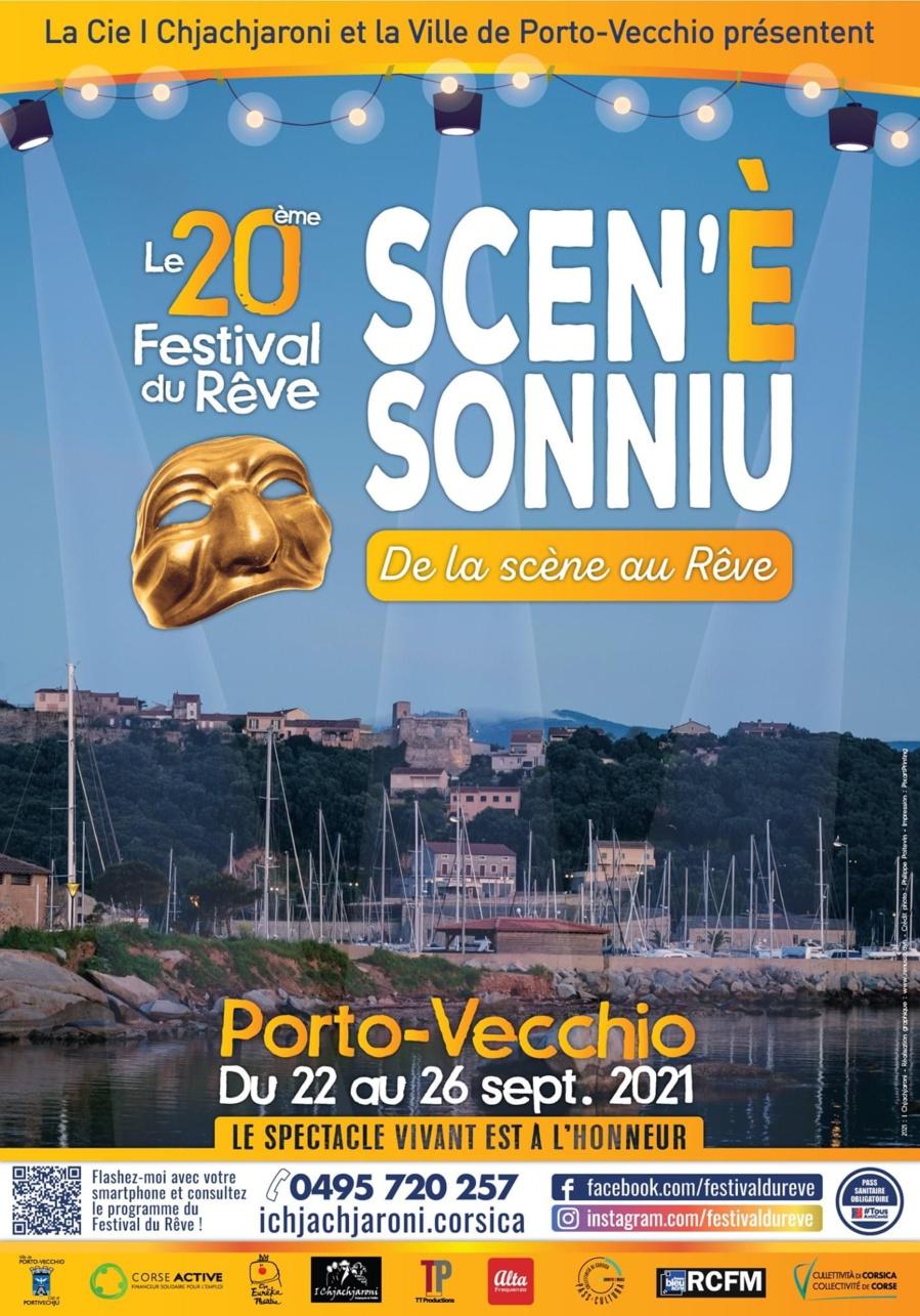 Festival Du Rêve Scen'è Sonniù 2021 - Porto-Vecchio