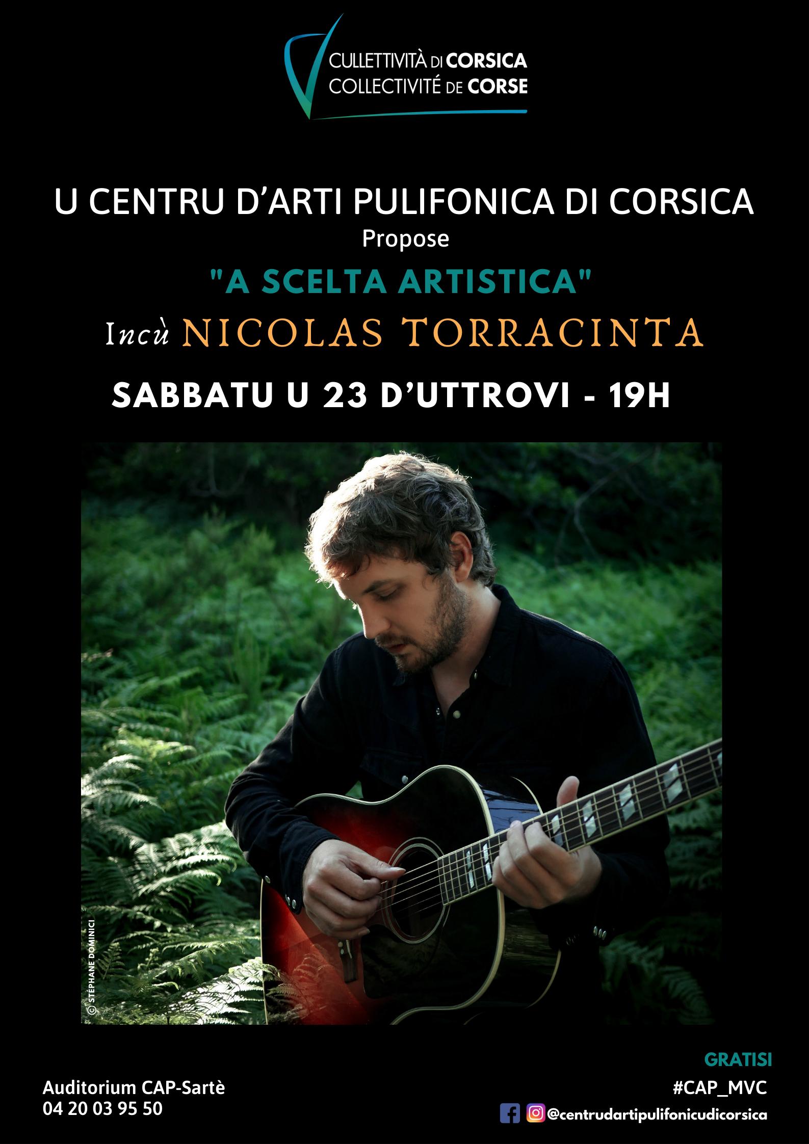"""""""A scelta artistica"""" incù Nicolas Torracinta - Centru D'Arti Pulifonica di Corsica - Sartè"""