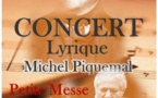 Concert lyrique Michel Piquemal -