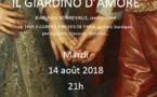 Il giardino d'amore Jean-Paul Bonnevalle, contre ténor Le trio à corde pincées de Paris, guitare baroque, percussion, clavecin, théorbe