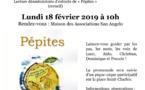 """Promenade littéraire autour de notre recueil """"Pépites"""""""