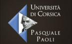 Programmation générale de l'Université de Corse