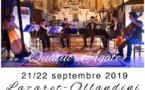 2 concerts de musique classique, un quatuor exceptionnel - Lazaret Ollandini Ajaccio