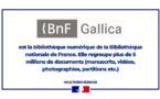 Découvrez les collections de la BNF Gallica