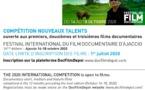 APPEL A FILMS : FESTIVAL INTERNATIONAL DU FILM DOCUMENTAIRE D'AJACCIO