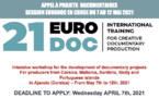 Appel à projets documentaires - Session de formation Eurodoc en Corse !