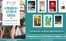 PREMIU DI I LETTORI DI CORSICA 2020 / VOTEZ POUR VOTRE LIVRE PRÉFÉRÉ JUSQU'AU 28 OCTOBRE !