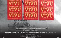 Programmation Culturelle de la Ville de Bastia - Spettaculu Vivu – 2020/2021