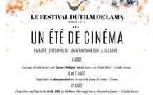 """Programmation """"Un été au cinéma"""" par le Festival du film de Lama"""