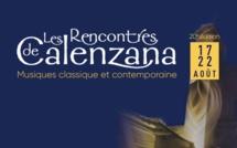 Les Rencontres de Calenzana 20ème édition
