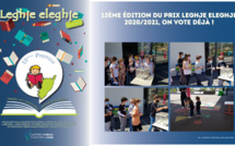 13ème édition du prix LEGHJE ELEGHJE 2020/2021, on vote déjà !