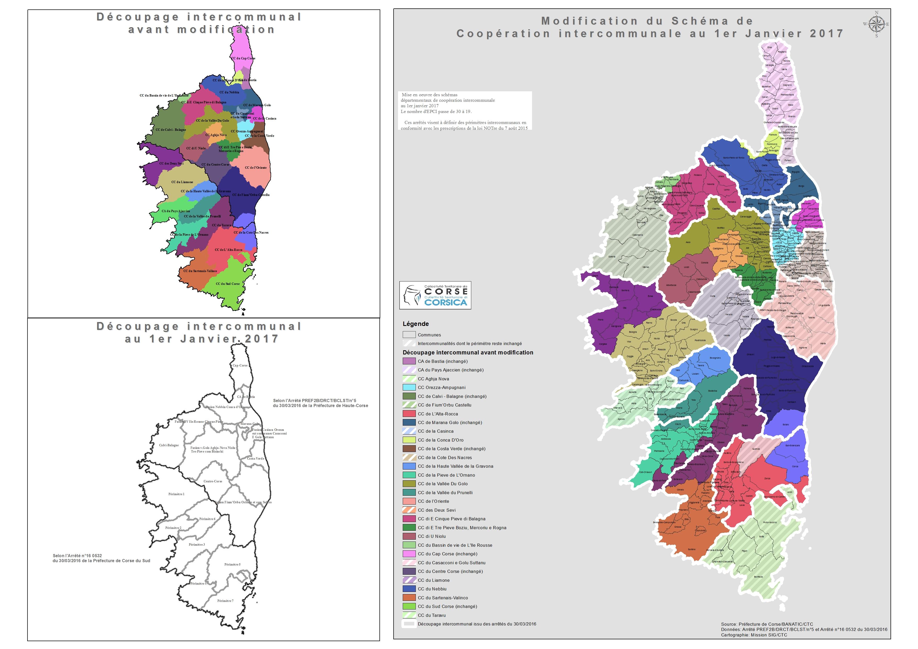 Cartographie des EPCI
