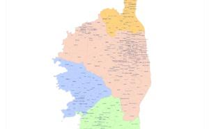 Cartographie des circonscriptions électorales législatives - Mai 2017
