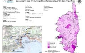 Cartographie des structures petite-enfance pratiquant le bain linguistique