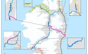 Cartographie des routes territoriales