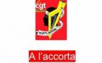 Communiqué de la CGT : A l'Accorta n°1 le journal de la CGT