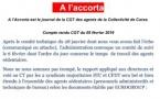 Communiqué de la CGT relatif au comité de suivi du 6 février 2019