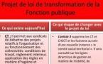 Communiqué de la CGT relatif au projet de loi de transformation de la fonction publique
