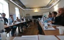 Oghje per Dumane - riunione di u Cumitatu di Seguitu, in Corti