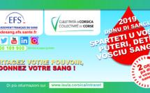 Doni di sangui sittembre 2019 : Dui ori pà salvà una vita/ Don du sang septembre 2019 : Deux heures sur votre temps de travail pour sauver des vies