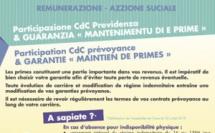 """ACTU RH : E nove di a remunerazione è di l'azzione suciale, participation CdC et garantie """"Maintien de primes"""""""