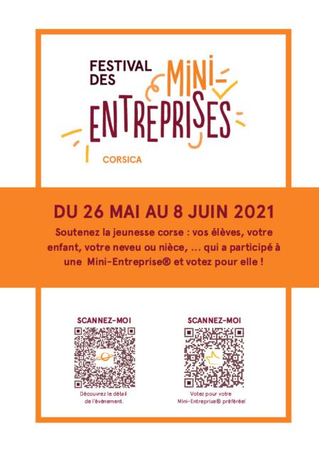 Le Festival des Mini-Entreprises in Corsica