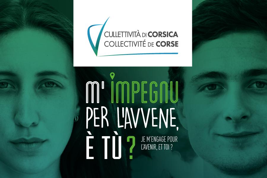 A pulitica Ghjventù di a Cullettività di Corsica : Pattu per a Ghjuventù