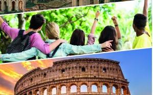 Participe au prochain échange international à Rome du 16 au 21 mars 2021