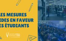 E misure d'aiutu di a Cullettività di Corsica pè i studienti