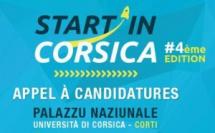 Appel à candidatures de la 4ème édition du concours Start in Corsica