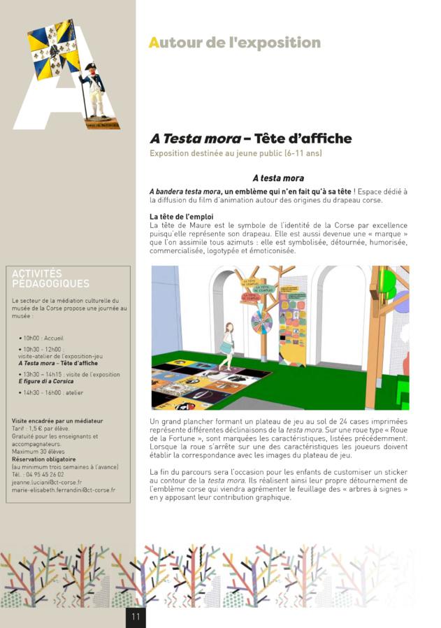 CORTI : Le musée de la Corse - Jean-Charles Colonna - A Testa Mora - Tête d'affiche,parcours destiné au jeune public (6 - 11 ans)