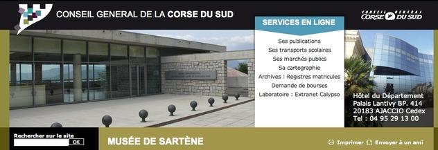Visitez le site du musée