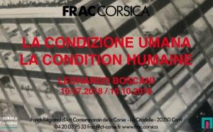 CORTI - FRAC Corsica - La condition humaine, Leonardo Boscani
