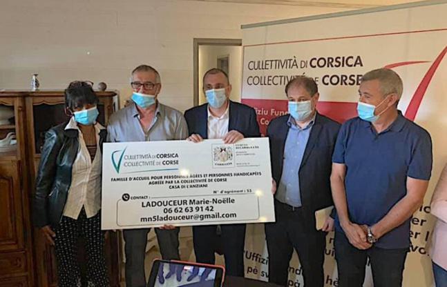 Article sur le journal en ligne Corse Net Infos : L'office foncier de la Corse acquiert des parcelles bâties à Carbuccia