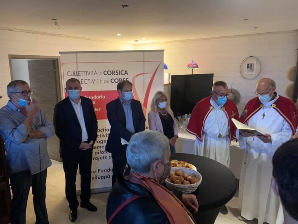 Inauguration de la maison d'accueil dédiée aux personnes âgées à Carbuccia