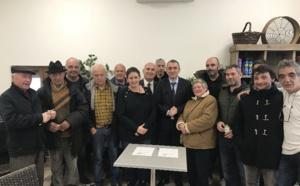Signature d'une convention de portage entre l'OFC et la commune de Ciamannace
