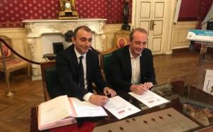 Signature d'une convention de portage entre l'OFC et la Mairie d'Aiacciu