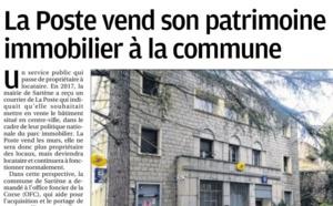 Corse Matin : La Poste vend son patrimoine immobilier à la commune
