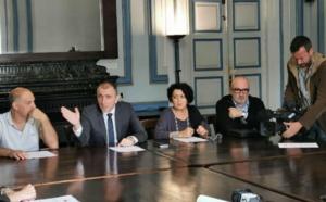 Conférence de Presse & Conseil d'Administration de l'Office Foncier présidés par Jean-Christophe Angelini