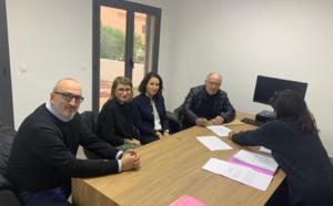 Signature de la convention de portage et de l'acte d'acquisition entre l'Office Foncier de la Corse & la commune de Ville-Di-Paraso.