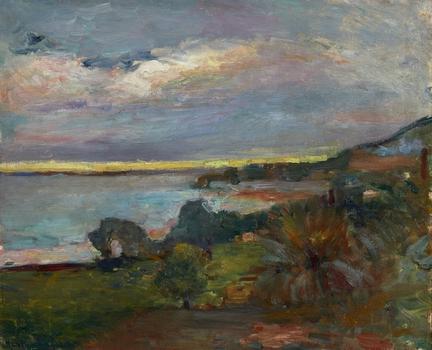 Paysage Corse-Le Scoud (1898) Photo Artcurial©